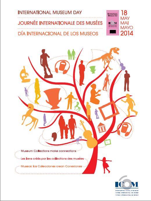 Cartel del Día de los Museos 2014