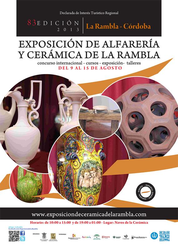 Cartel de la Exposición de Alfarería y Cerámica 2014