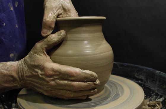 Foto de torneado cerámica