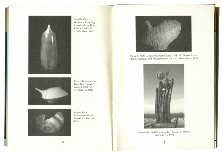 Páginas centrales del libro Joan Panisello i Chavarria