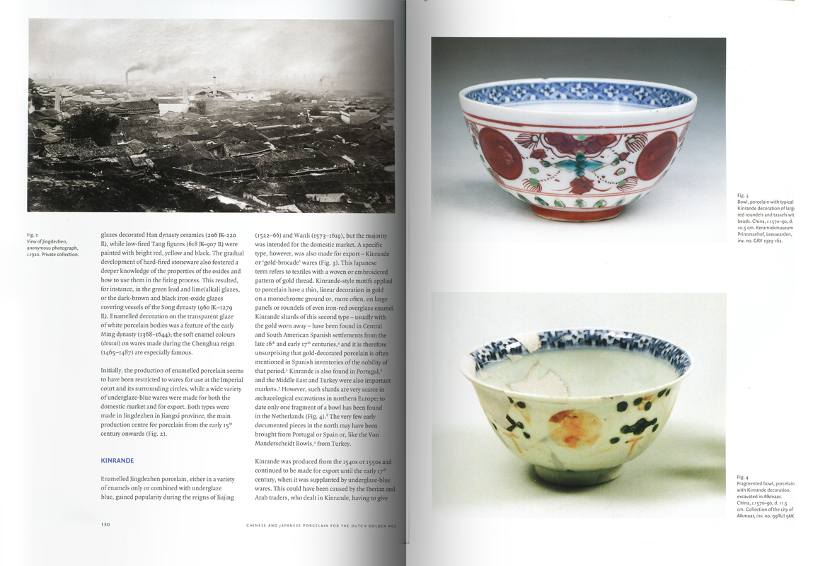 Páginas interiores del libro Chinese and Japanese Porcelain for the Dutch Golden Age