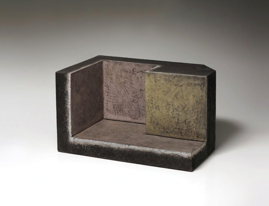 Pieza de cerámica de Enric Mestre