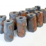 Piezas de cerámica de Makoto Hatori