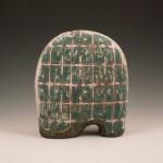 Escultura cerámica de Renata Cassiano