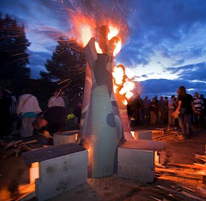 árbol de fuego de Wali Hawes