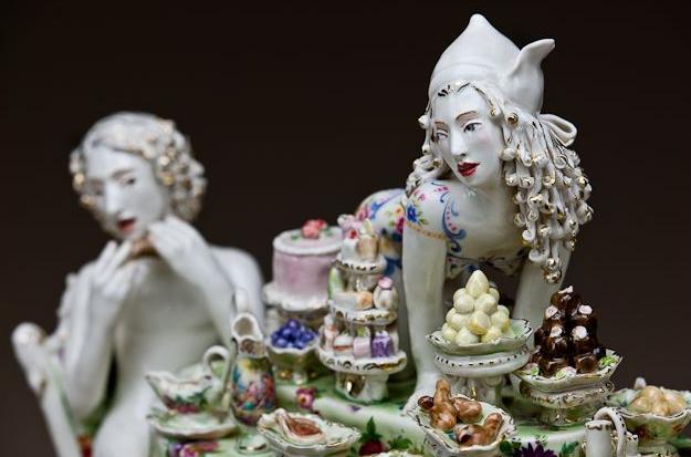 Escultura cerámica de Chris Anteman