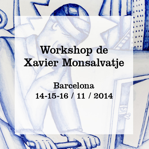 Cartel del curso de Xavier Monsalvatje