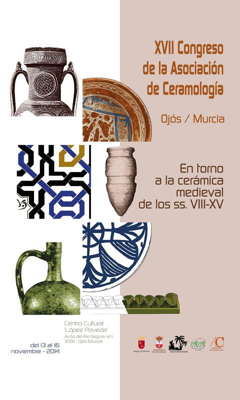 Cartel del Congreso de la Asociación de la Ceramología