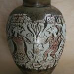 Pieza de cerámica de Teresa Marta Batalla