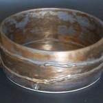 Pieza de cerámica de Amparo