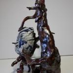 Pieza de cerámica de Fran