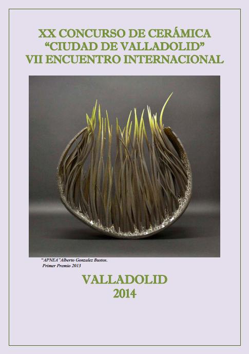 Cartel del XX Concurso de Cerámica Ciudad de Valladolid