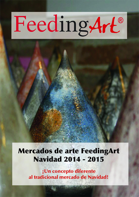 Cartel de promoción de los Mercados FeedingArt