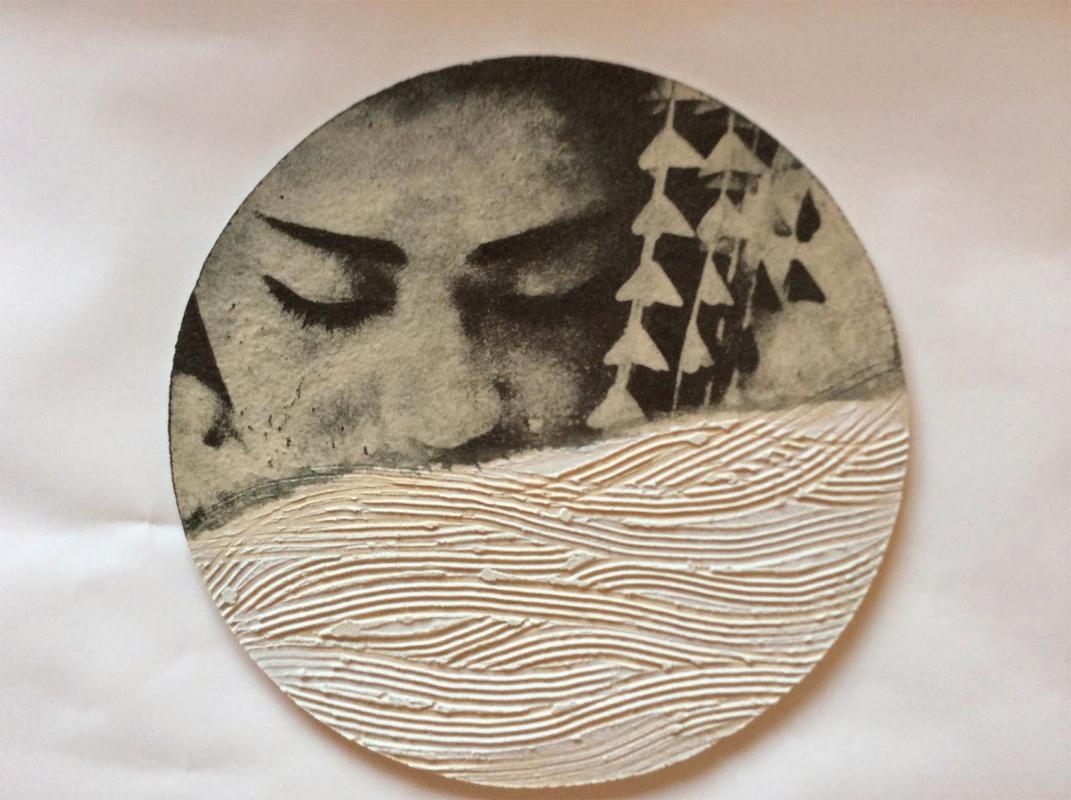 Pieza de cerámica de Eli Moretó