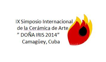Logo del IX Simposio Internacional de la Cerámica