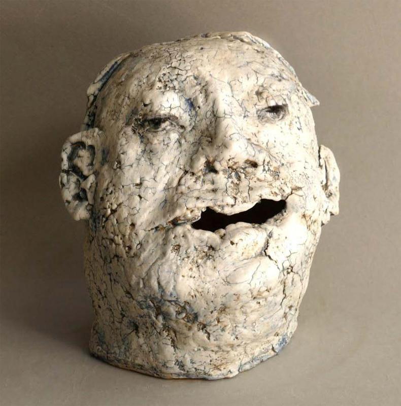 Escultura cerámica de Teresa Gironès