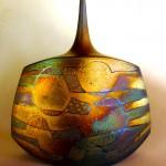 Pieza de cerámica de Joan Carrillo