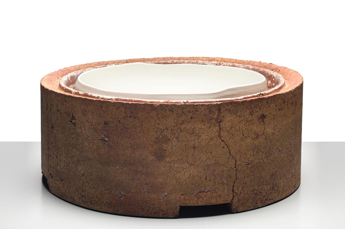 Escultura cerámica de Josep Madrenas