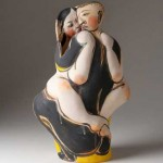 Escultura cerámica de Akio TakamoriEscultura cerámica de Akio Takamori