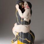 Escultura cerámica de Akio Takamori