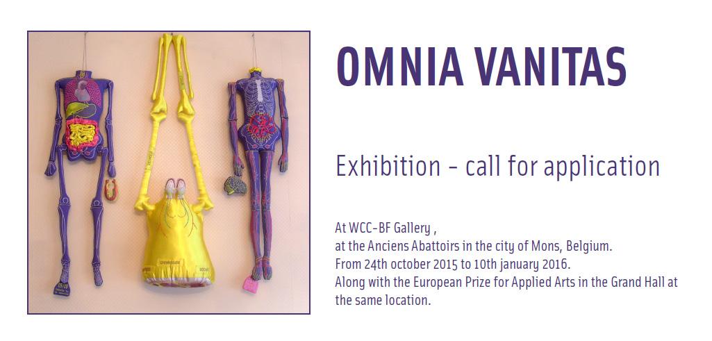 Cartel de la exposición Omnia Vanitas