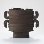 Pieza de cerámica de Colin Pearson