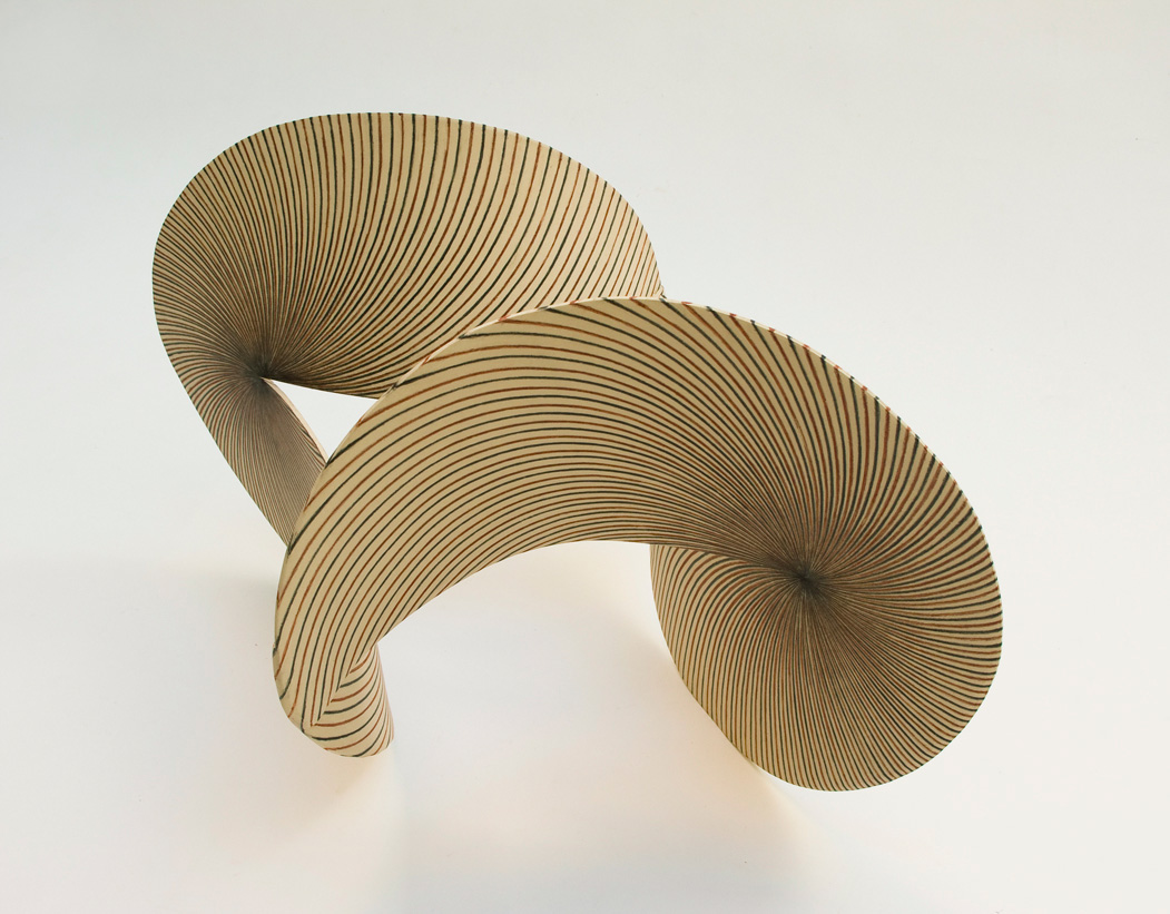 Escultura cerámica de María Oriza