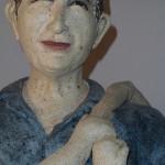 Escultura cerámica de Mary GUmà