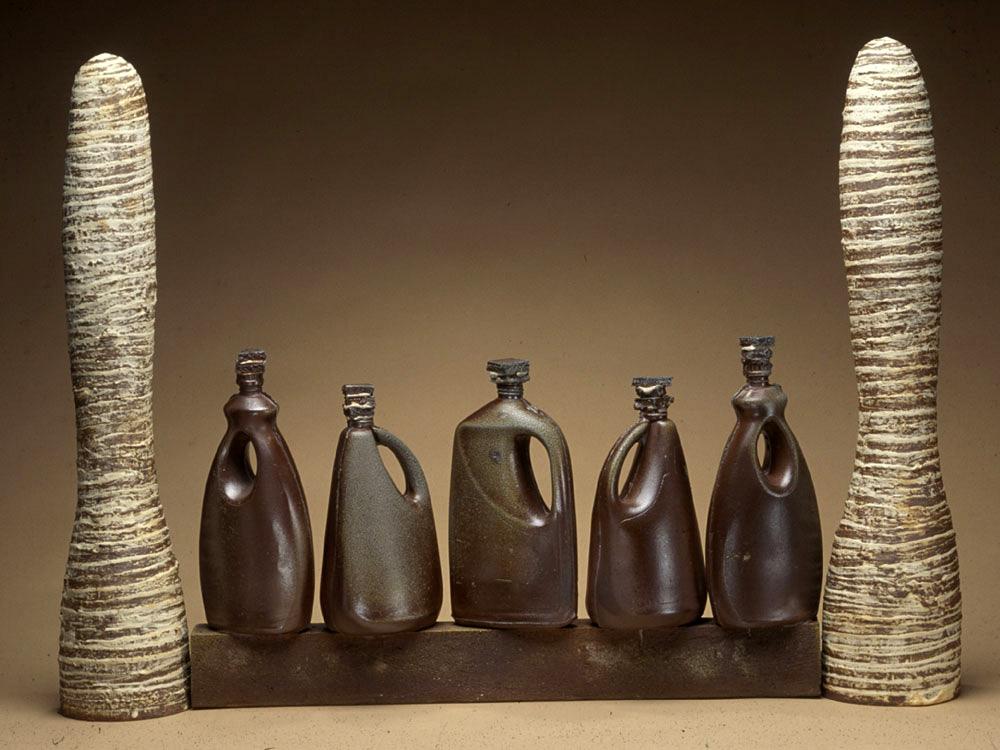 Escultura cerámica de Tony Hepburn