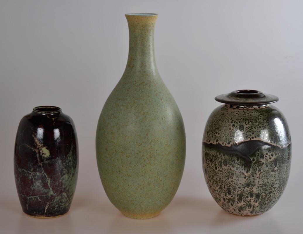 Piezas de cerámica de Artigas, Chapallaz y Montmollin