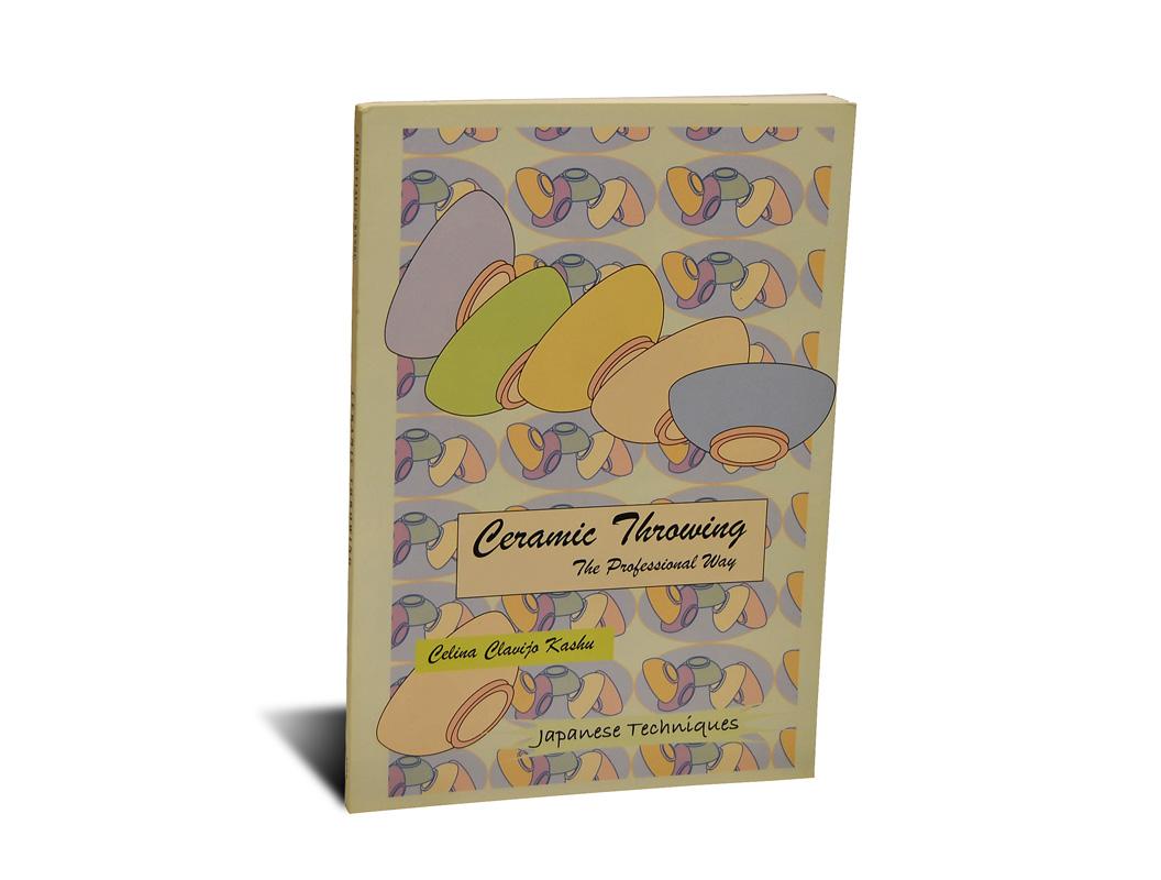 Portada del libro -Ceramic Throwing-, de Celina Clavijo