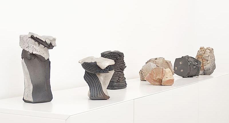 Vista de la exposición de Shozo Michikawa en la Galería Puls, de Bruselas