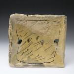 Pieza de cerámica de Jean-Nicolas Gerard