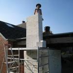 Construcción del horno