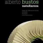 Cartel de la Exposición de Alberto Bustos en elMuseo de cerámica de la Alcora