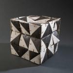 Pieza de cerámica de Loreto Riveros