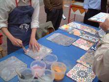 Ftoto de talleres en vivo de cerámica