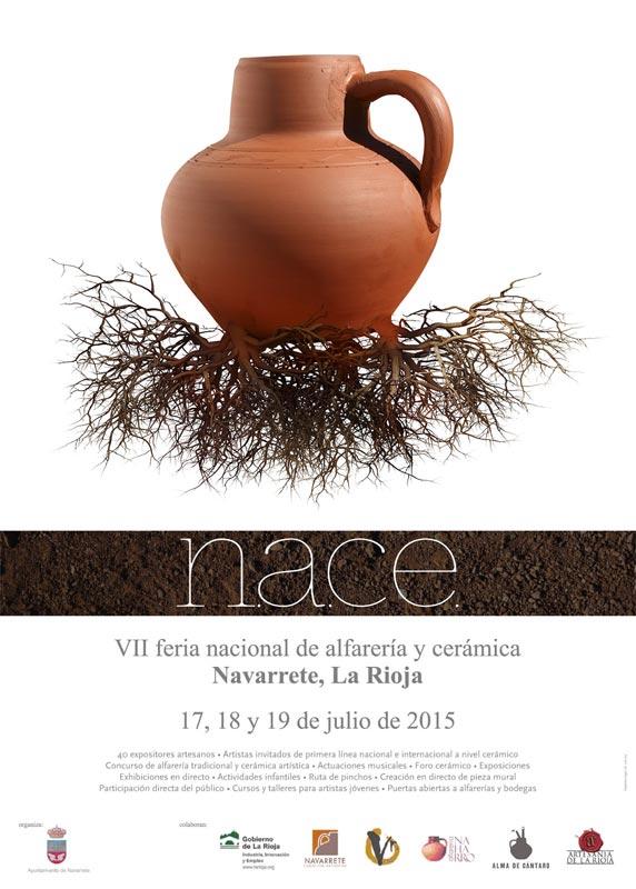 Cartel de la Feria de Alfarería y Cerámica de Navarrete, La Rioja