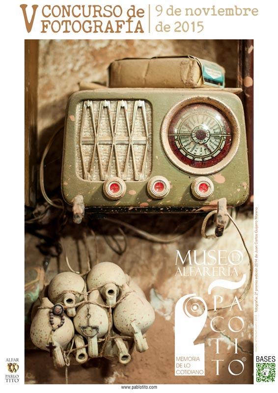 Cartel del Concurso de fotografia Paco Tito