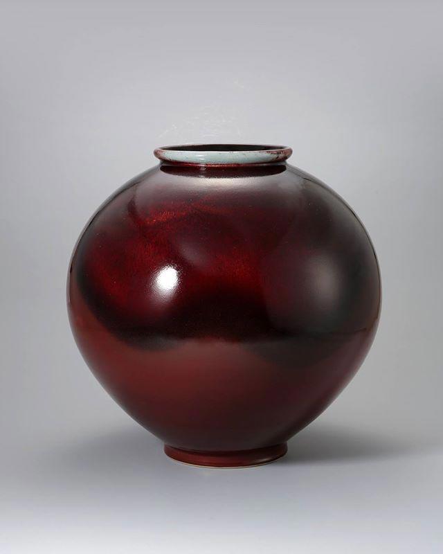 Pieza de cerámica de Seungae Ahn