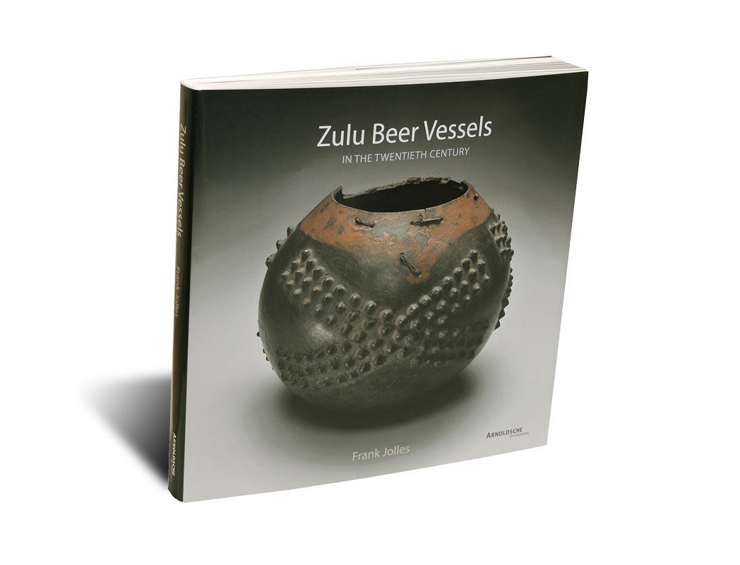 """Portada del libro -Zulu Beer Vessels"""""""