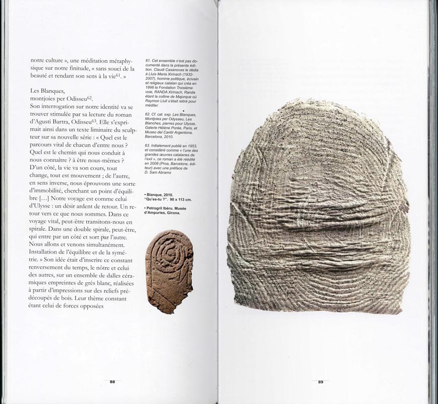 Páginas interiores del libro Claudi Casanovas