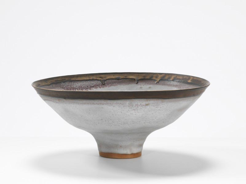 Cuenco de cerámica de Lucie Rie