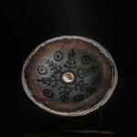 Pieza de cerámica de Abdellah y Camil.la Pérez Salvà