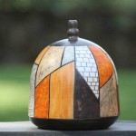 Pieza de cerámica de Avelino Carrasco