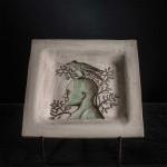 Pieza de cerámica de Susanna-Inglada y Camil.la Pérez Salvà