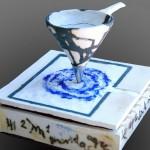 Pieza de cerámica de Pilar Soria