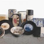 Piezas de cerámica de la exposición -A4mans-