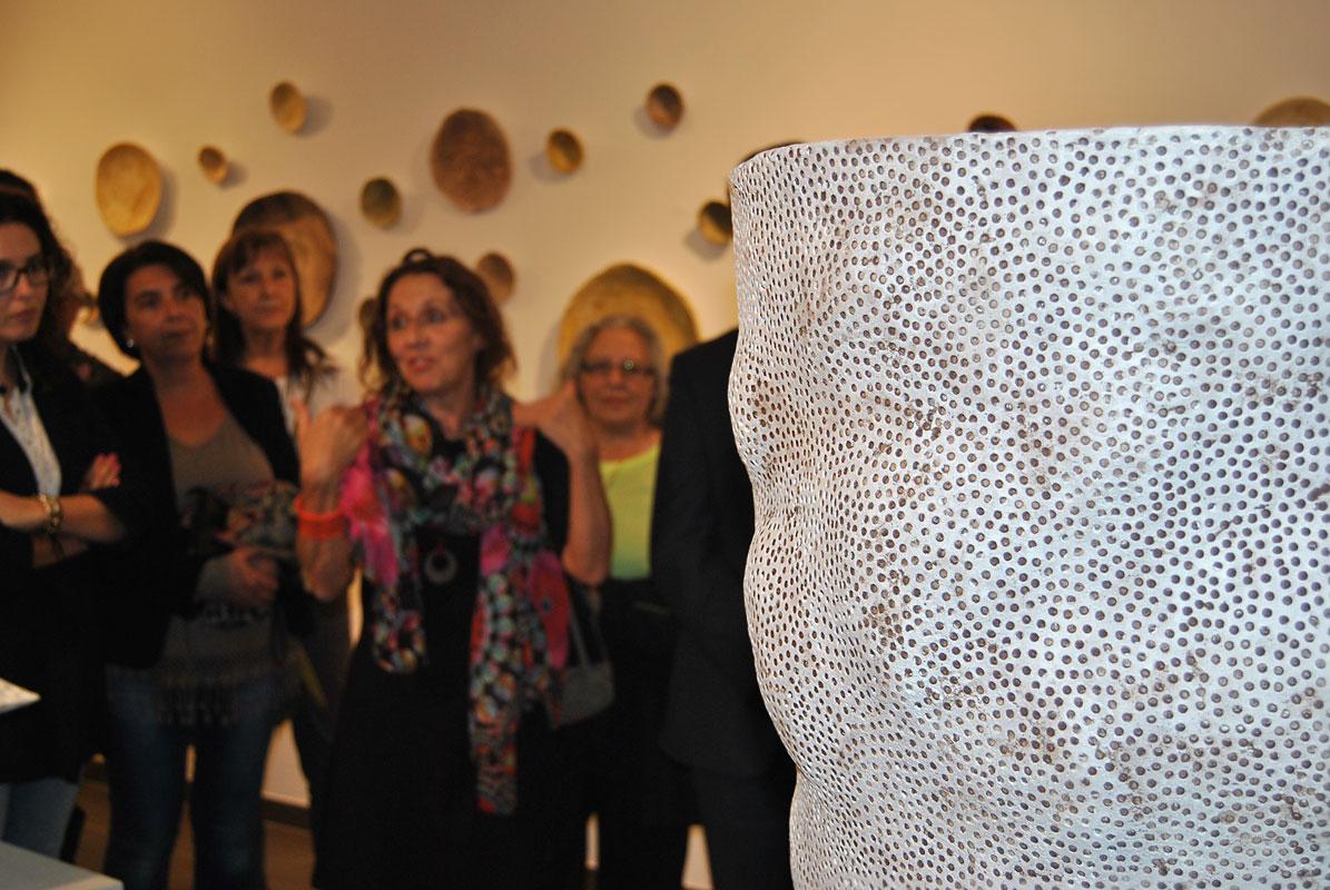 Inauguración de la exposición de Rafaela Pareja
