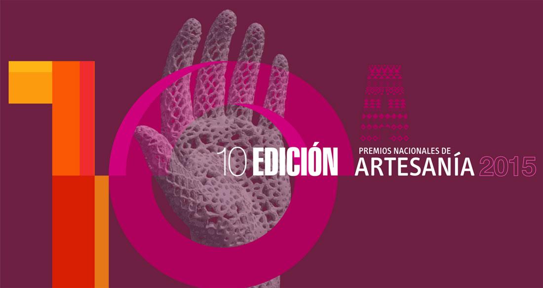 Cartel de los Premios Nacionales de Artesanía 2015